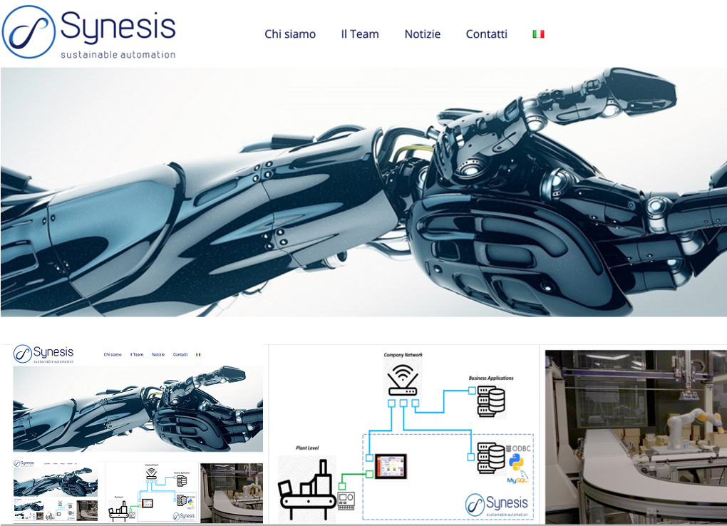 New Synesis website is on line